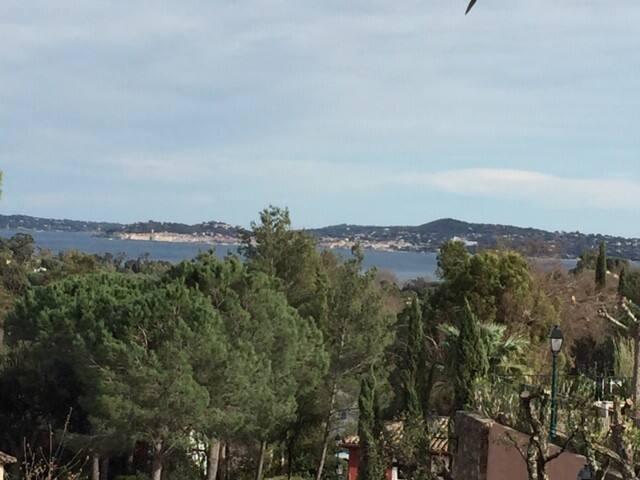 Vista mare e Golfo di Sainte Tropez