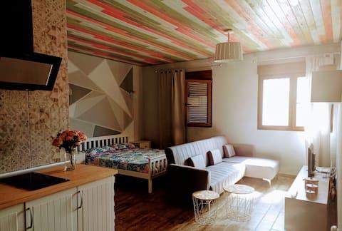 Apartamento con encanto y muy cómodo, en zona rural
