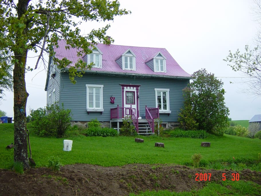 Our house  built  in 1879 a good old Canadian wooden house!