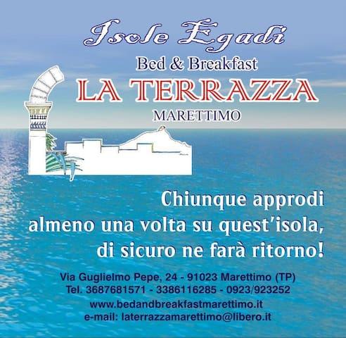 B&B LA TERRAZZA MARETTIMO - Bed and breakfasts for Rent in Marettimo ...