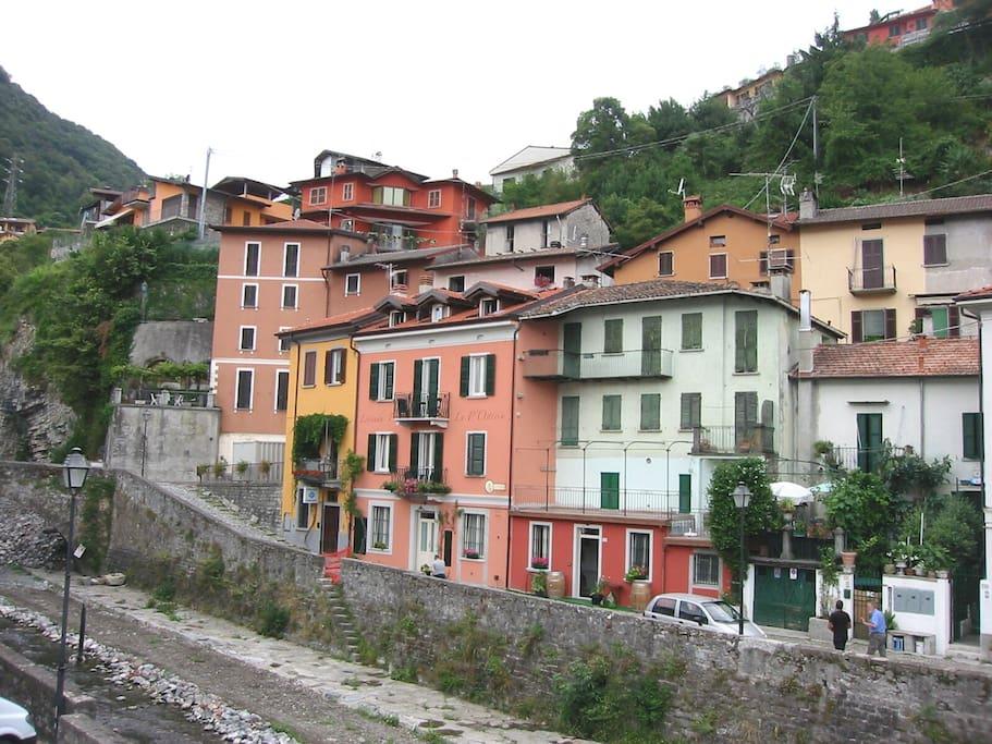 The village along the river Telo