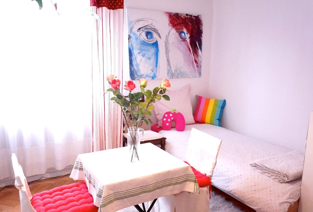 Beau studio ensoleillé au centre ville de Strasbourg/ Nice and central in Strasburg