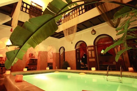 El Grably,  chambre 2 personnes - Marrakech - Bed & Breakfast