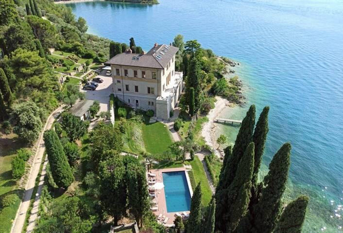 Villa Caratti, Lake Garda