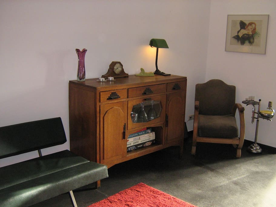 Mooie industriele vintage, design interieur