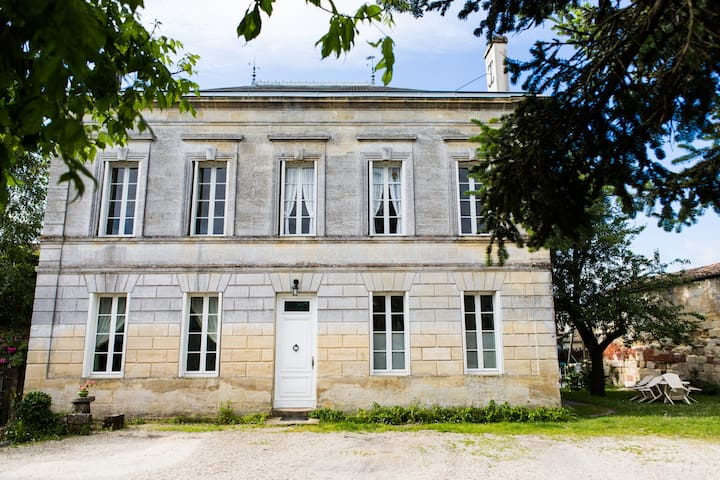 Lovely winery house near Margaux - Cussac-Fort-Médoc - Departamento