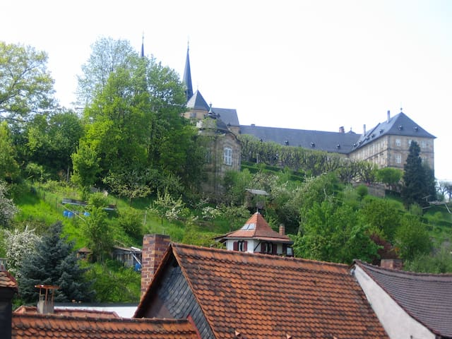 Michaelsberg Blick aus dem Fenster