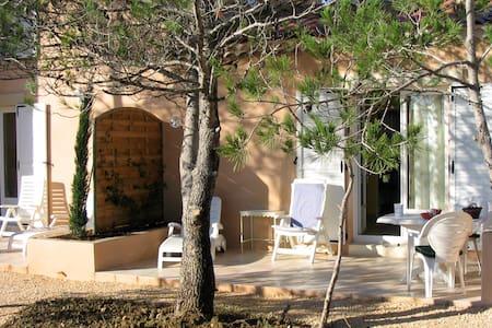 Anduze Gîte 2 p + piscine couverte - Massillargues-Attuech - Lejlighed