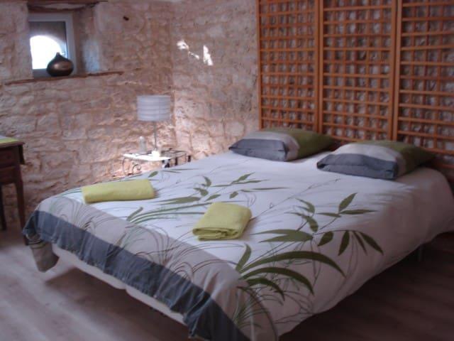 chambres d'hôtes village Bambous - Thénac