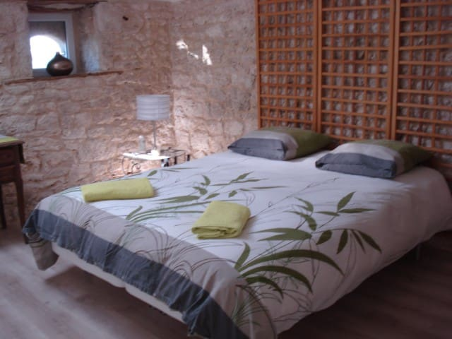 chambres d'hôtes village Bambous - Thénac - ที่พักพร้อมอาหารเช้า