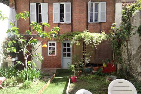 Chambre douillette avec jardin