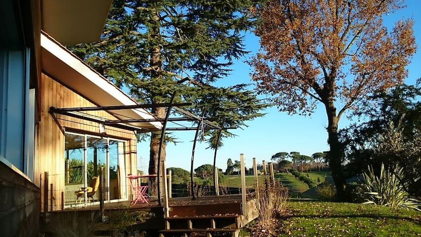 Très belle maison d'architecte avec vue magnifique - Carignan-de-Bordeaux - House