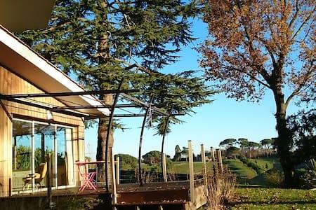 Très belle maison d'architecte avec vue magnifique - Carignan-de-Bordeaux