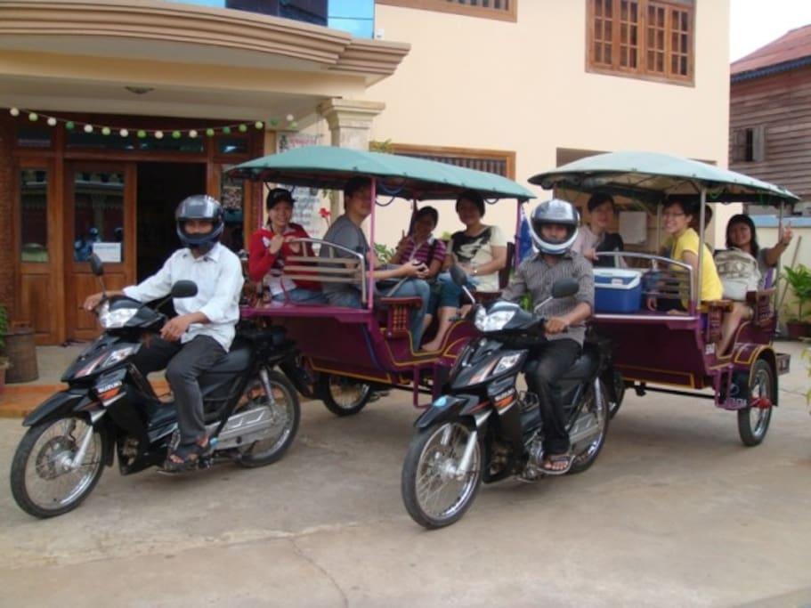 Ready for Angkor Wat..