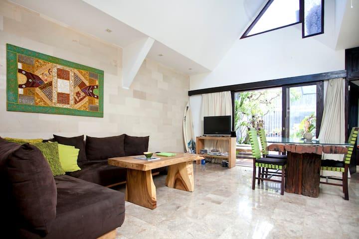 Villa Naree 1 with pool,Canggu,Bali - Kuta - Hus