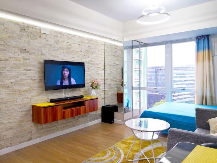 High design, best comfort next to Ayala Mall!