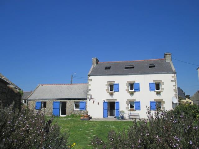 la maison aux mouettes et aux volets bleus - Lampaul-Plouarzel - Ev
