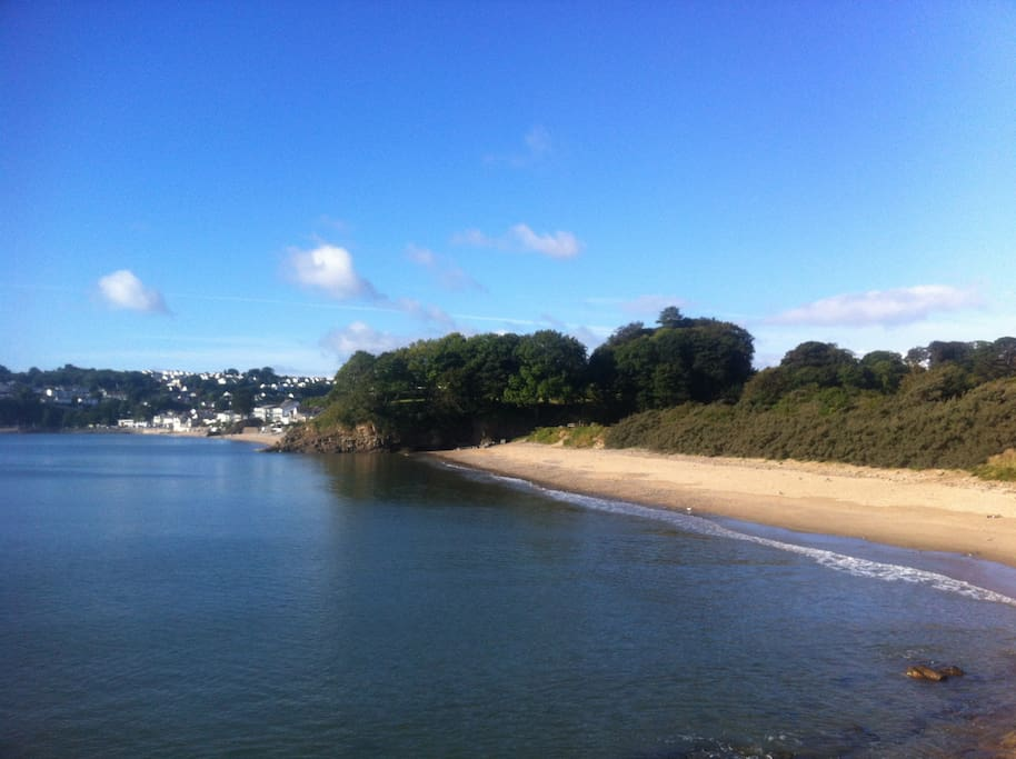 Coppet Hall beach, location of the new Coast restaurant.