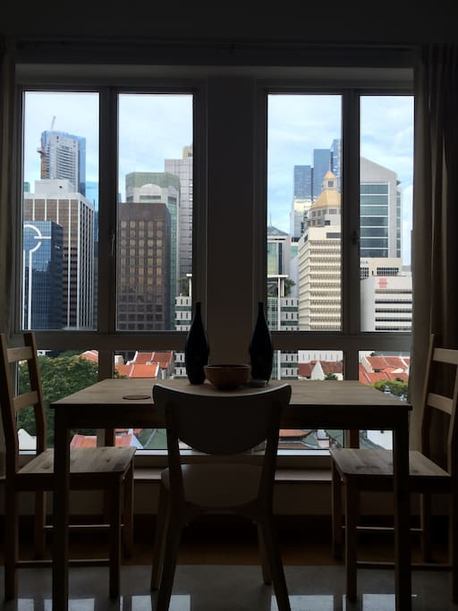Brekky with a view