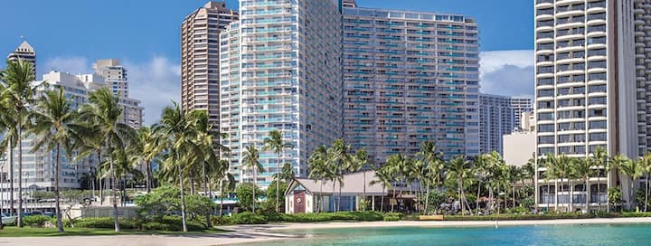 Private resort/hotel space in Waikiki