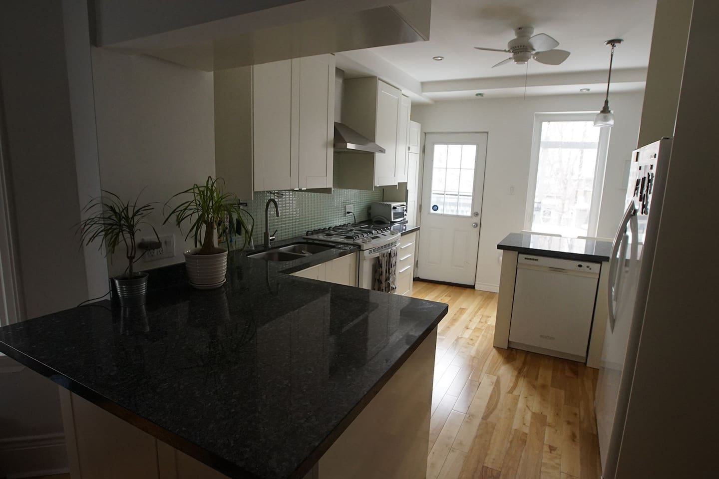Newly renovated kitchen is great for cooking!