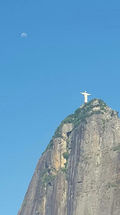 Amazing view of Corcovado/ Vista para o Cristo!