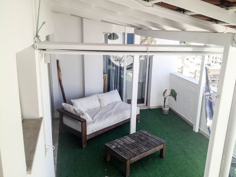 Big confortable terrace