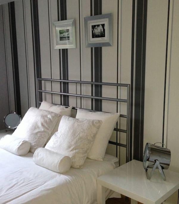 Bedroom 2 is just as nice