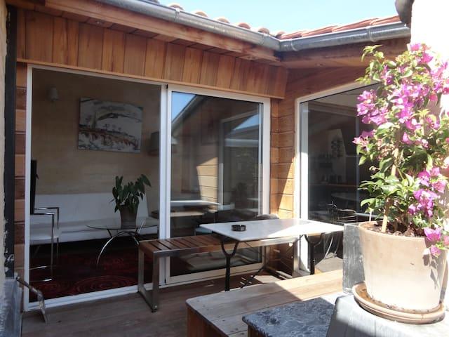 T3 et Terrasse Arborée Hyper Centre - Bordeaux - Apartemen