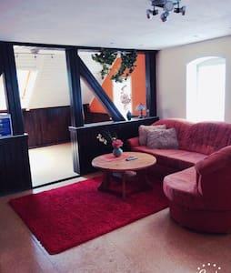 Gemütliche 3 Zimmerwohnung im DG - Ehrenfriedersdorf - Apartment