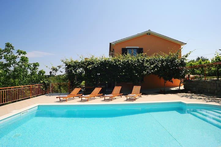 Villa con la piscina - Labin - House