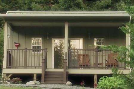 The Eagles View Suite: Cottage In The CA Redwoods - Trinidad - Zomerhuis/Cottage