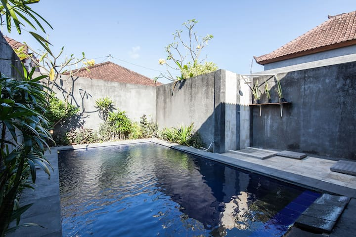 ☀TRANQUIL SHADY☀ 2BR Pool Villa*longstay available