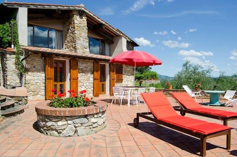 Cosy Loft near Florence: free wifi, terrace, pool