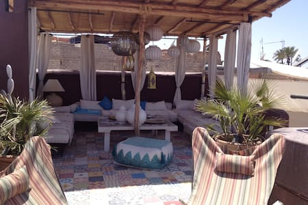 Rooms in a beautiful riad free wifi