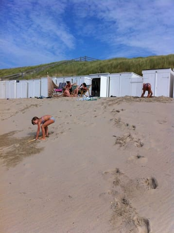 6 persoons bungalow aan strand - Westkapelle - Cabin