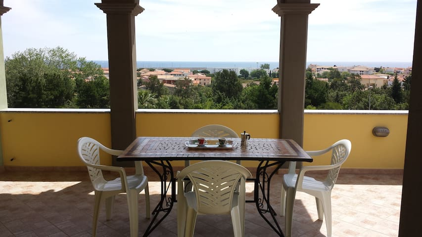 Mare sx - panoramic apartment - La Caletta - Appartement