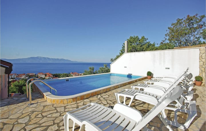 Beautiful home in Podaca with WiFi, Outdoor swimming pool and 0 Bedrooms