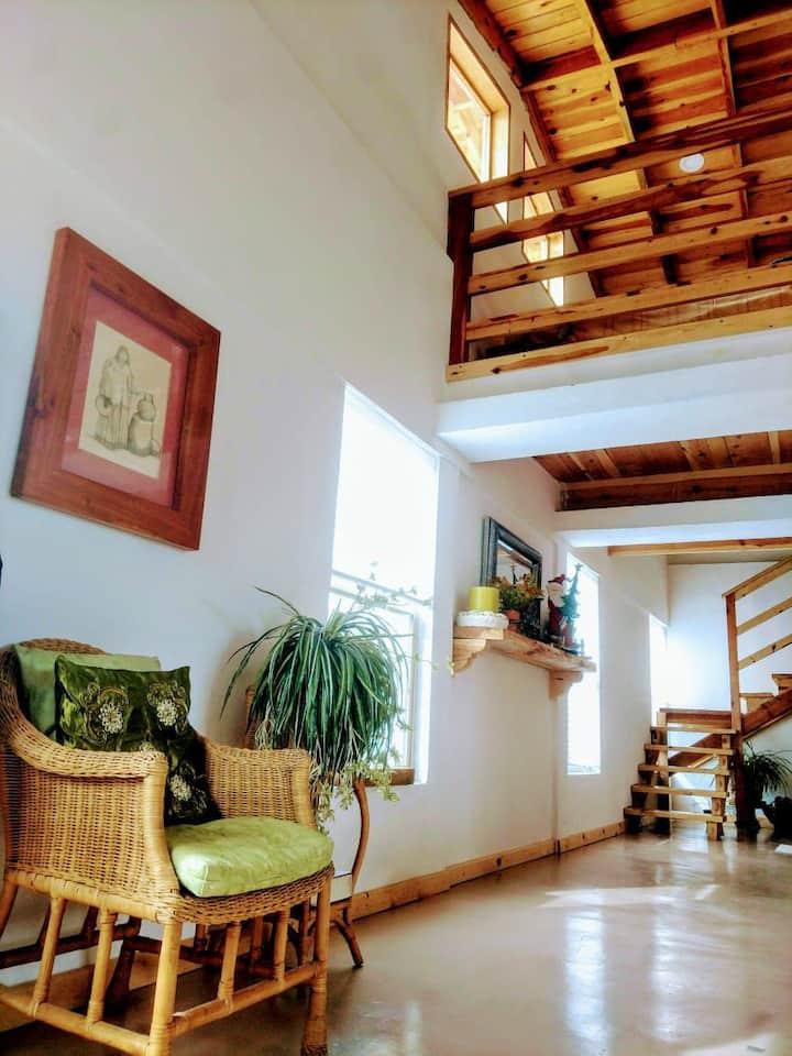 Hermosa y calida casa tipo cabaña