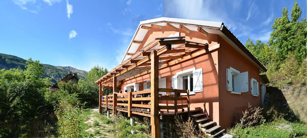 Great charming chalet in Mercantour - Colmars