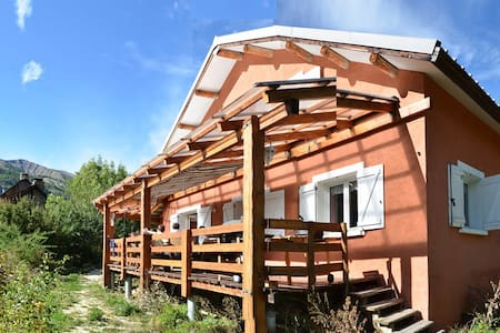 Great charming chalet in Mercantour - Colmars - House