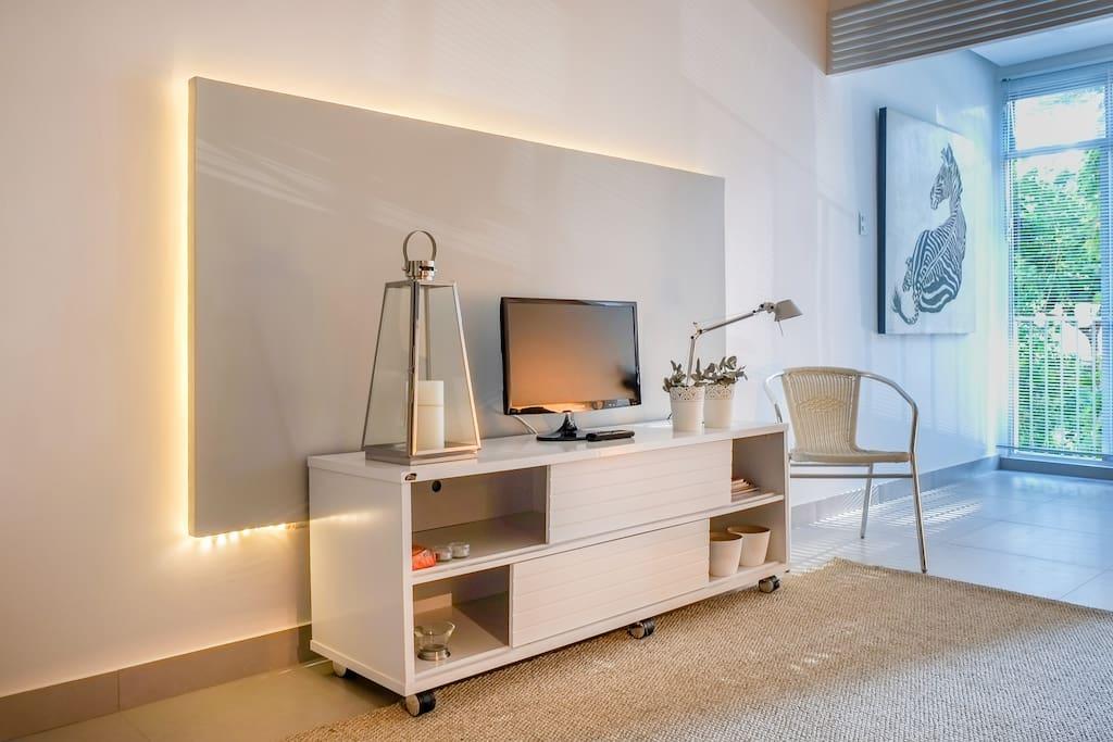 Painel de lâmpada led / Tv /Living Room