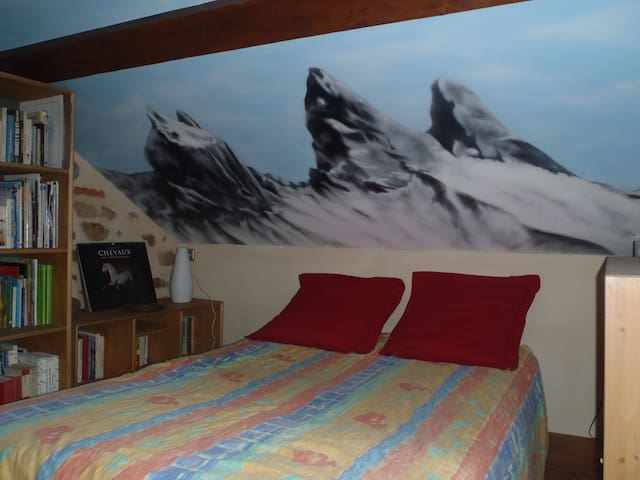 Petite chambre aux portes du Morvan - La Roche-en-Brenil