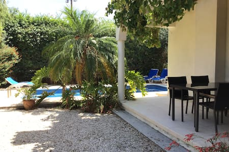 Private 2 bed villa in Pissouri bay