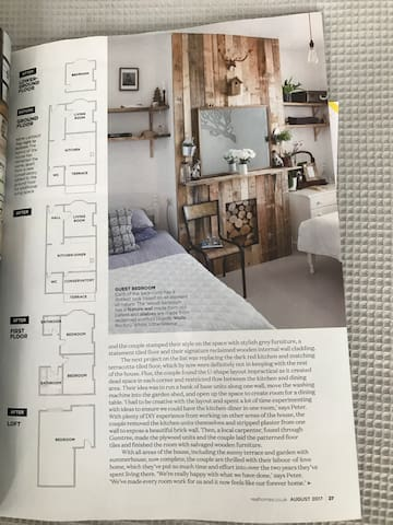 Real Homes Magazine features The Wood Room, August 17!