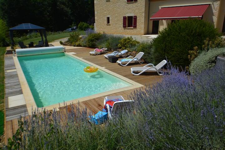 Les Platanes, à Sarlat avec piscine privée