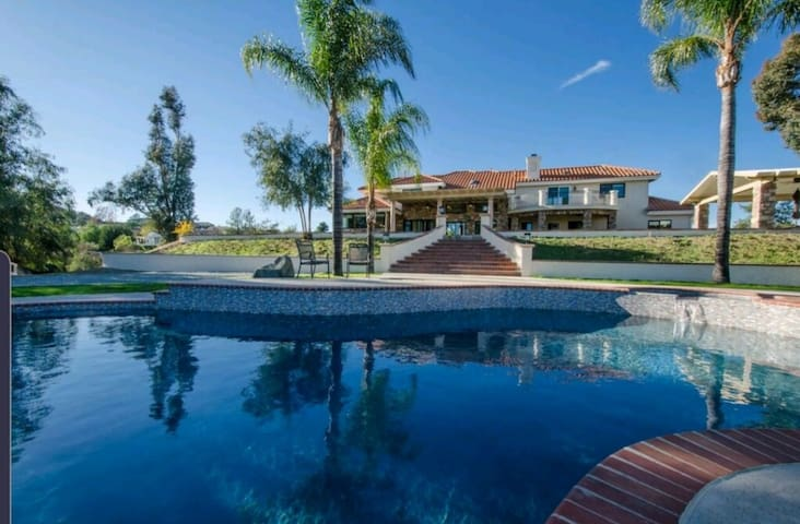 Serene Villa w Views + Massive Yard + Pool/Spa