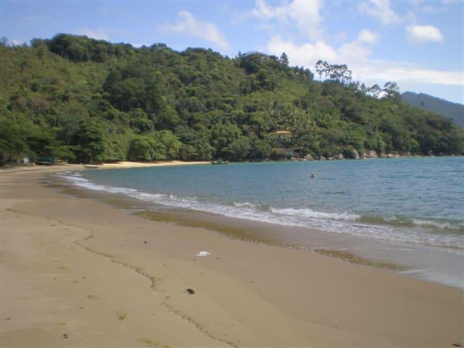 praia do Flamengo a 50 mts
