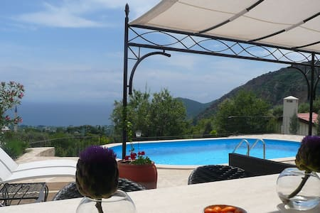 Almond Cottage in Mesudiye, Datca - shared pool - Datca, Mesudiye, Mugla