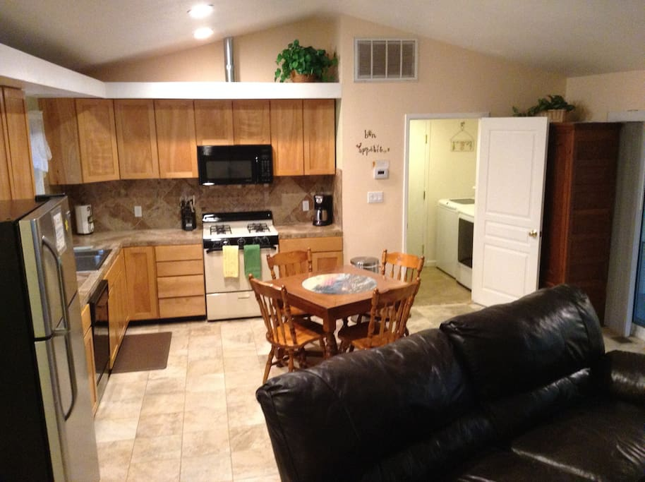 Kitchen area in Grand room